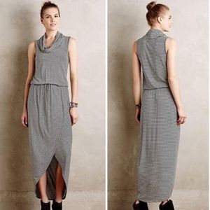 Anthro Dolan Left Coast Striped Cowl Neck Maxi